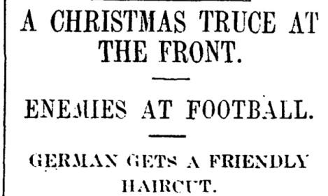 Manchester Guardian, 31 Dec. 1914