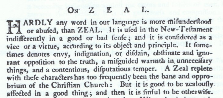 On Zeal, from Methodist Magazine (1798) 001